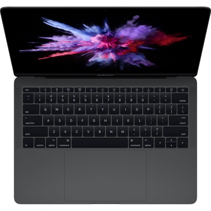 "Apple Macbook Pro MPXT2 - 7th Gen Ci5 08GB 256GB SSD 13.3""Retina Display Intel Iris Plus Graphics 640 Mac OSx Sierra (Space Gray - Mid 2017)"